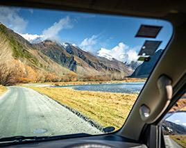 Fahren Neuseeland