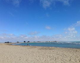 sumner beach sand