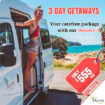 3 Day Getaways Special - Heron Campers