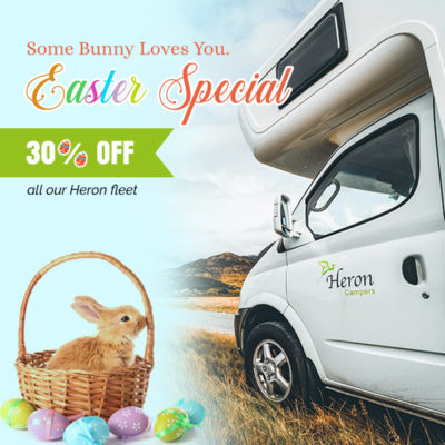 Easter Special, Heron Campers, Campervan Deal