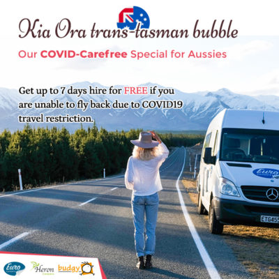 Special Campervan Hire for Australians